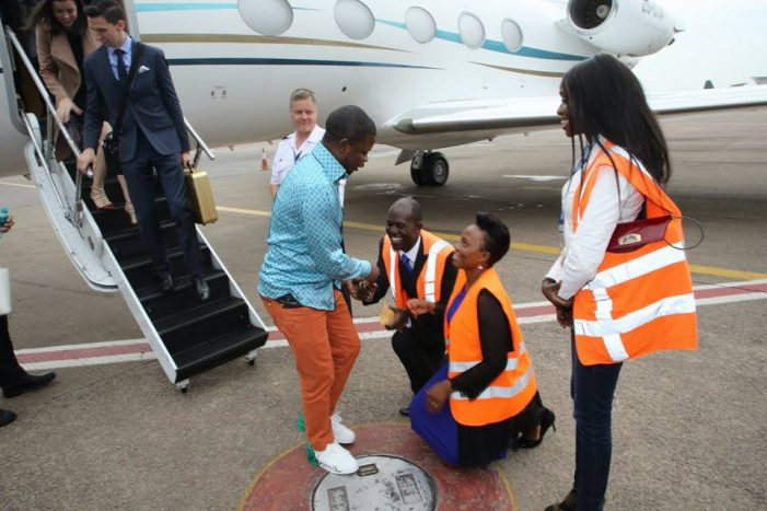 HOW BUSHIRI BEATS AIRPORT BY  EVADING CUSTOMS: I am a diplomat, do not touch me or search my luggage