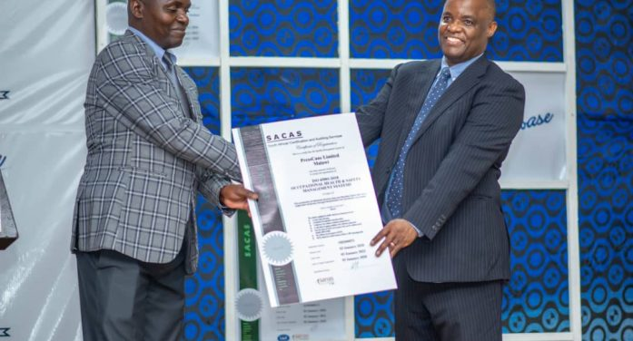 Government Impressed With PressCane ISO Certification, Implores Firm To Diversify Into Renewable Energy