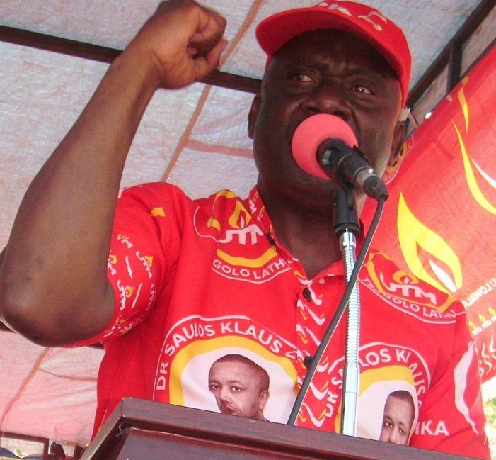 UTM's Mwenefumbo Dares MEC On Threat to Call Off Karonga By-Elections