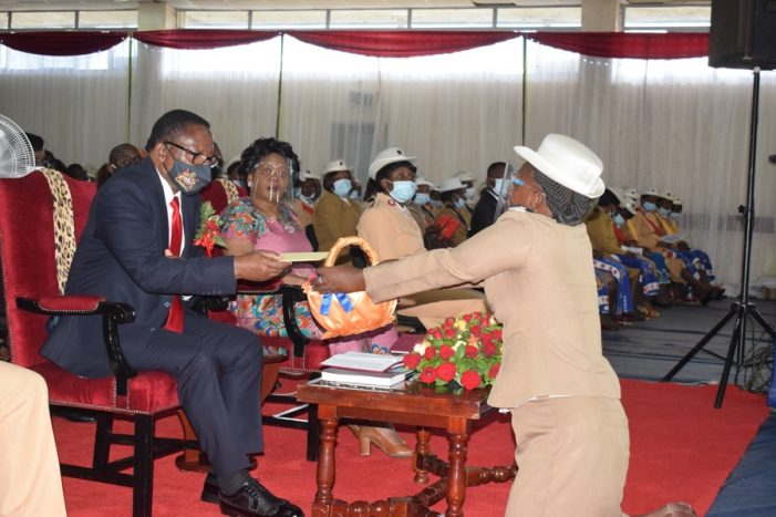 Lazarus Chakwera Calls On Malawians to Embrace Good Values