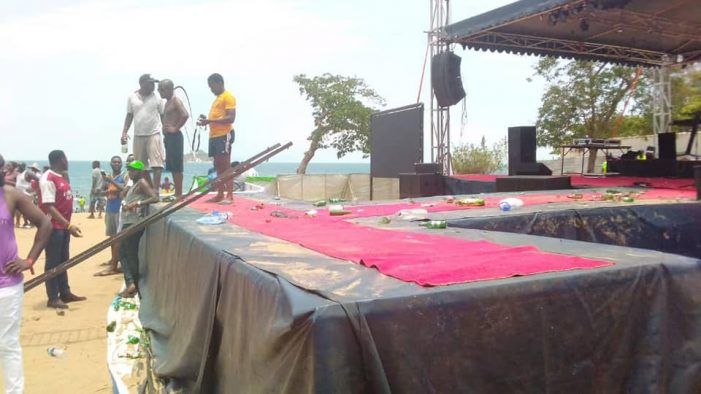 Lucius Banda's Sand Festival Ends in Tears: Organisers Stoned, Several Injured
