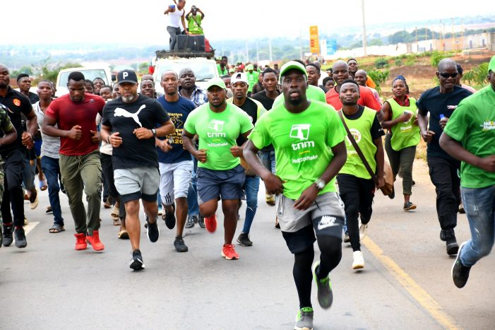 Chilima Participates In Walkers Fundraising