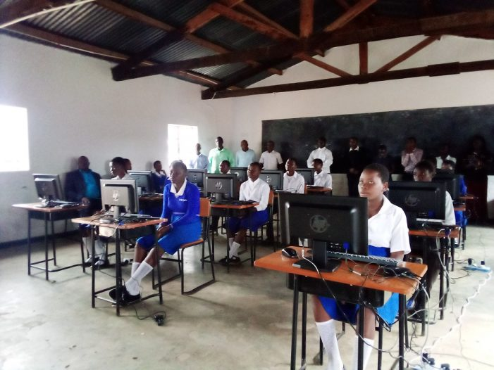 TNM Donates Computers to Yamba CDSS in Chitipa