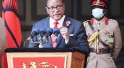 HE Chakwera National Address January 17, 2021 (Full Text)