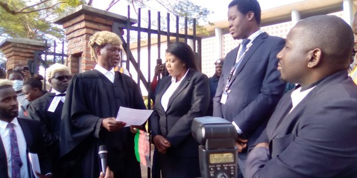 Lawyer Mwakhwawa Donates K250,000 Towards Covid-19 Fight As MLS Continue To Slumber