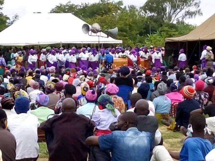 Kasungu Defies Chakwera's Covid-19 Measures As Hundreds Attend Chief Kaluluma Burial, No Arrest Yet