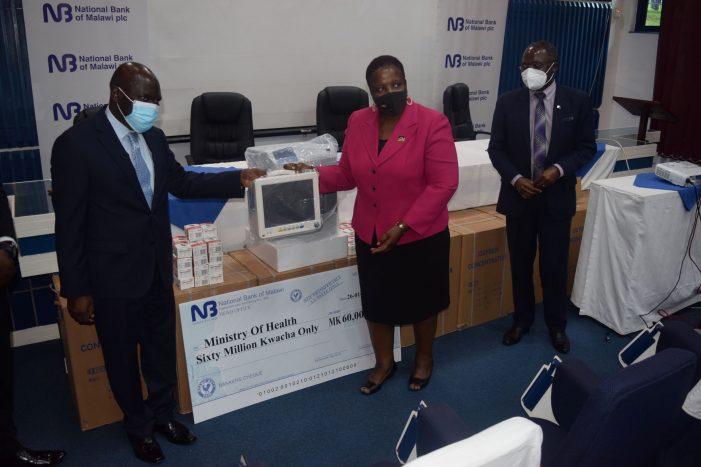 NBM plc Donates K70million Towards Covid-19 Fight