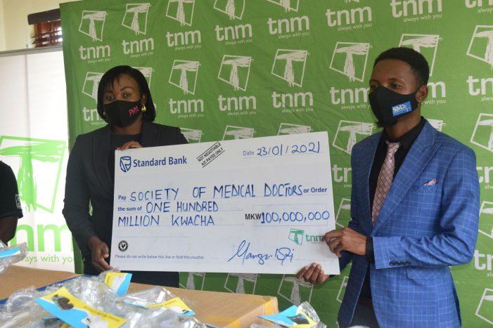 TNM Donates K100 million Towards Covid-19 Fight