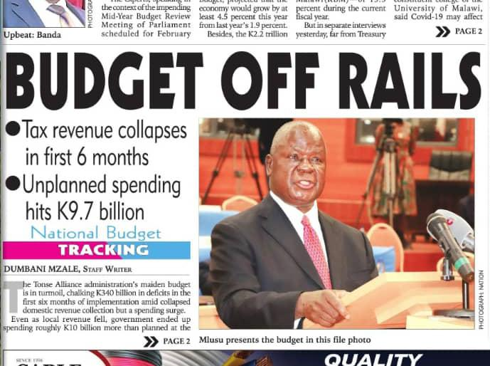 Chakwera Fails To Steer Ship In Right Direction: Economy Outlook Faints