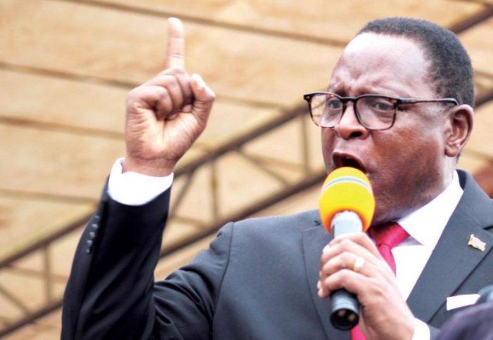 Chakwera's Full Speech on MK6.2 Billion Covid-Gate: Fires Labour Minister Kandodo