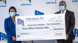 FDH Bank Donates K3 million Towards Buy A Gadget Campaign At Polytechnic