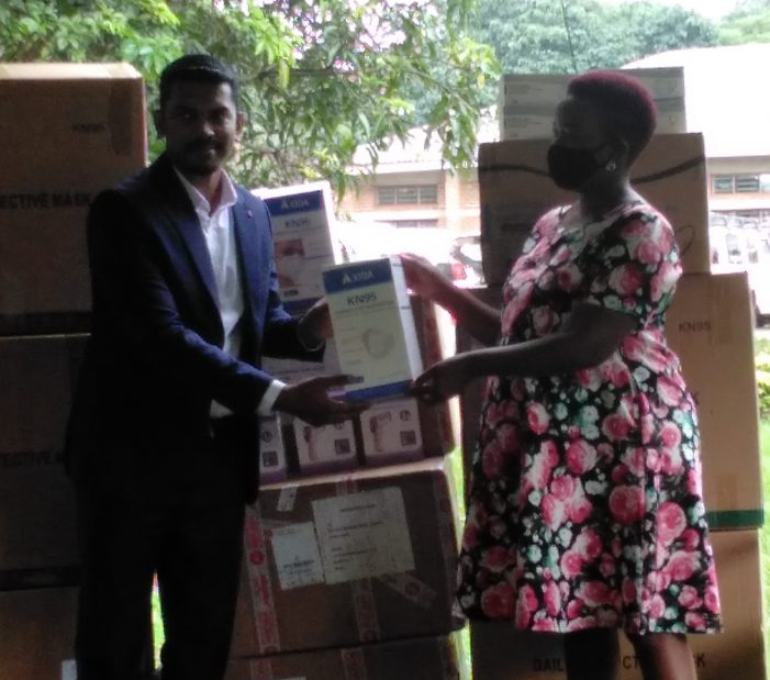 Capstone LTD Donates PPEs to Malawi Red Cross Society