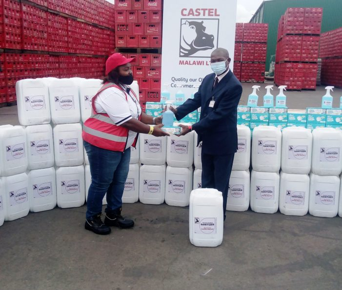 Castel Malawi Donates Towards Covid-19 Fight