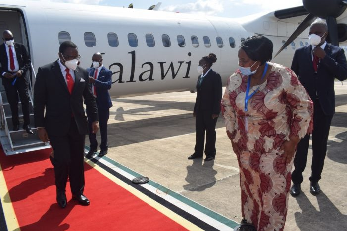 Chakwera Attends SADC Summit In Mozambique