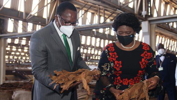 Lazarus Chakwera Wants Malawi Weaned From Tobacco