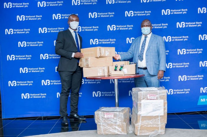 NBM Hands Over Covid-19 Items to Citizens Response Team