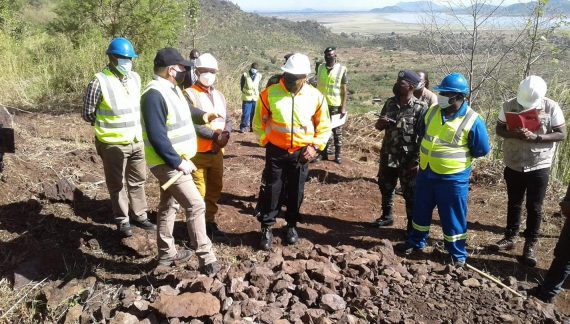Chilima Impressed With Songwe Mining Site in Phalombe