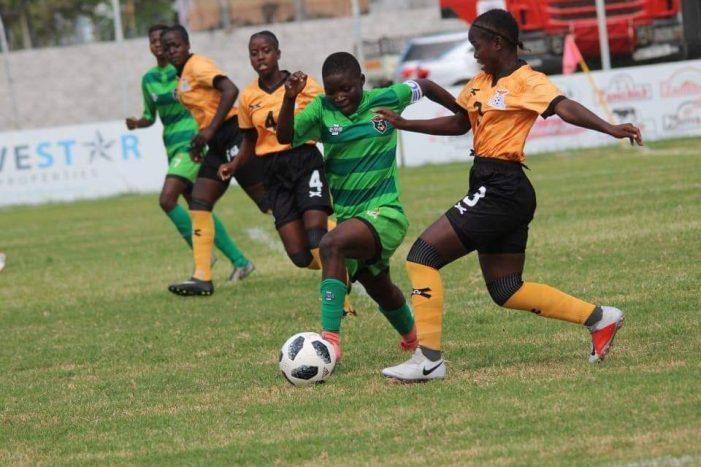 Zambia Beat She-Flames in Friendly Match