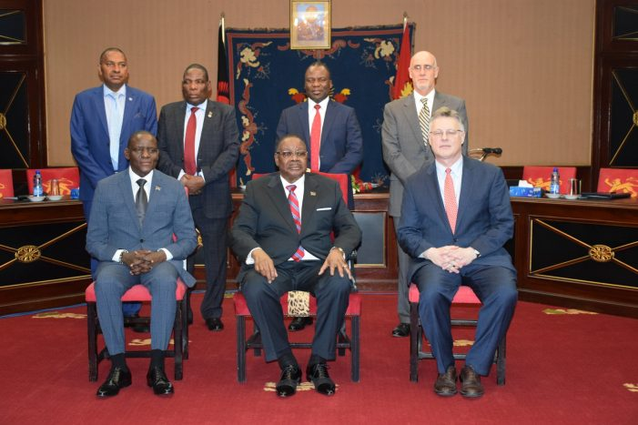 President Mutharika, US Assistant Secretary of State Talk Trade, Investment
