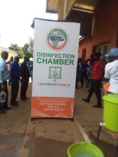 DPP's Ben Phiri Donates Covid-19 Disinfection Chamber To Thyolo Hospital