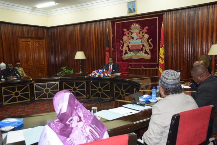 PAC Commends President Mutharika For Commitment To Dialogue