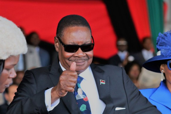 Mutharika in Robust Health…. Grants PAC An Audience