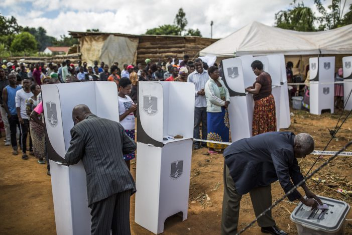 Update: Mozambicans Voting in Nsanje By-Elections