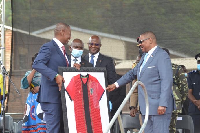 Nyamilandu Hails Mutharika For Bullets , Nomads Stadia Project