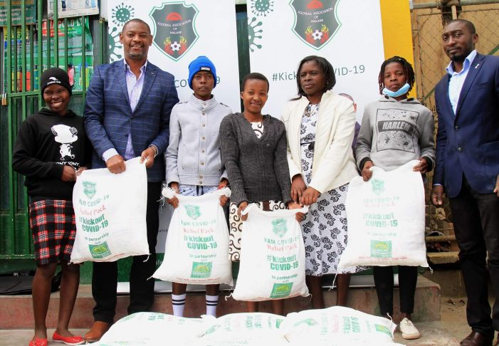 FAM Rolls Out Covid-19 Food Packs Programme
