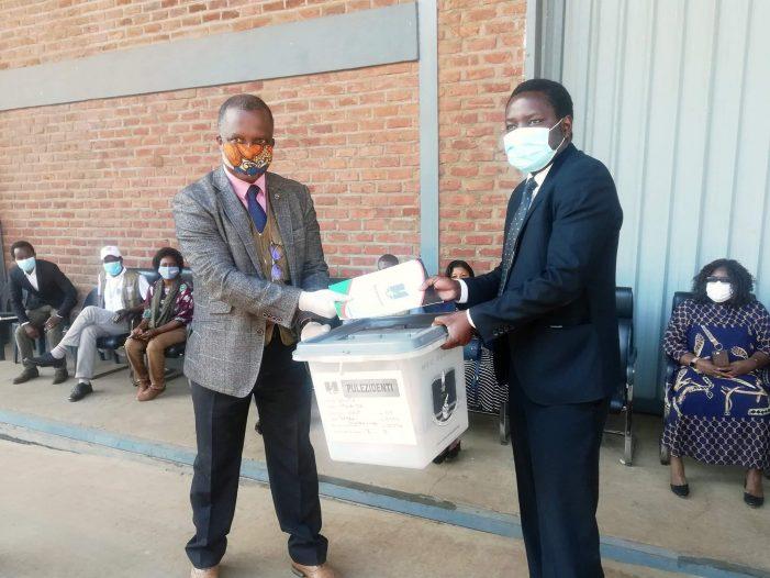MEC Hands Over Election Materials to Parliament