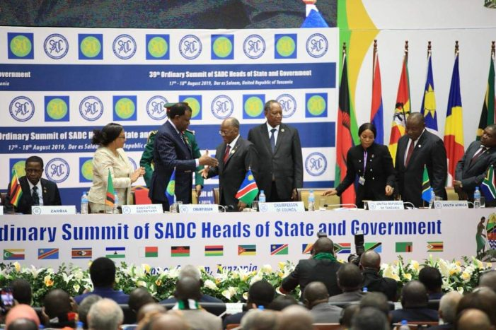 SADC to Hold Virtual Summit for Head of States
