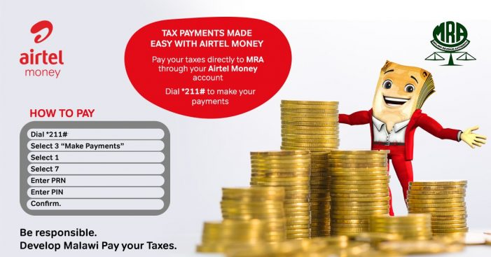 Airtel Money Partners MRA  For Electronic Tax Payment