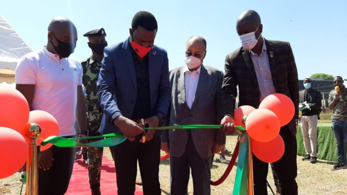 Hockey Stadium Officially Inaugurated in Blantyre: To Host Africa Hockey Club Competition Next Year
