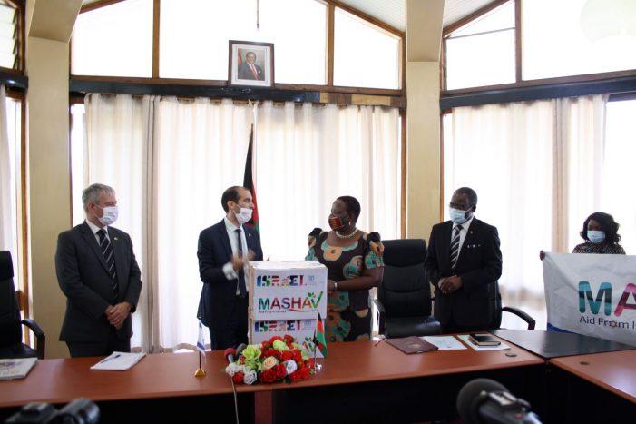 Israel Donates Covid-19 Equipment To Malawi