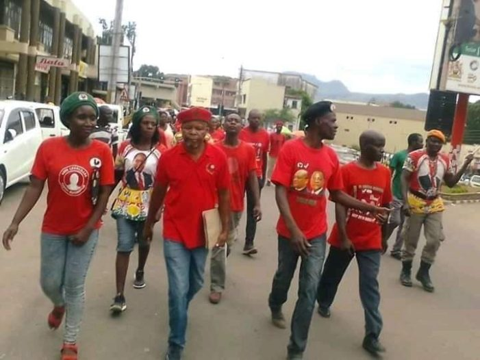ITSANANA: MCP Youth March Against Lazarus Chakwera's Administration