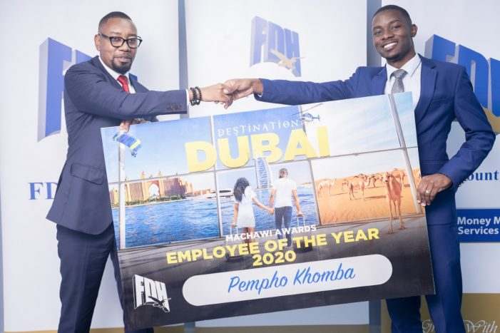 FDH AWARDS BEST EMPLOYEE…sends him on Dubai trip with spouse