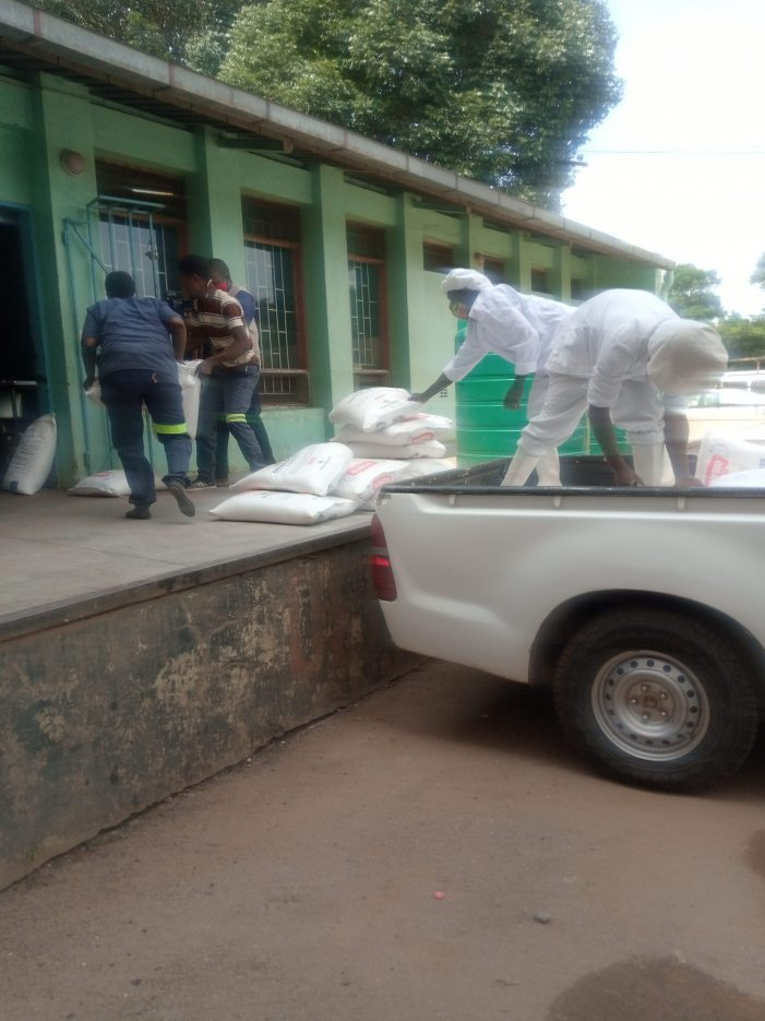 Grain Securities Limited Donates Maize Flour To KCH