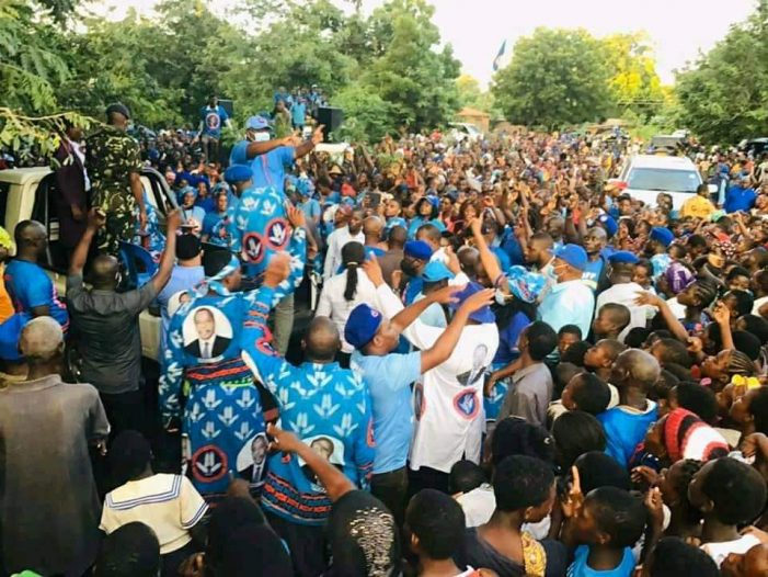 Nankhumwa Drums Support for DPP Candidate in Chikwawa