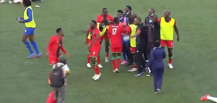Flames Scorch Uganda to Qualify For AFCON 2021
