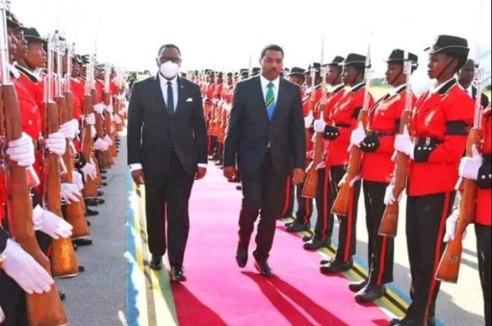 President Chakwera Describes Late John Magufuli As A Hero of Africa