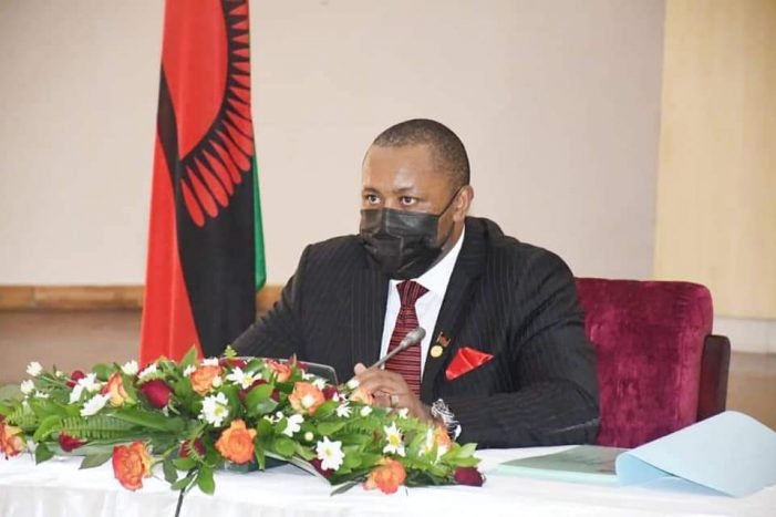 Veep Chilima to Answer Questions in Parliament