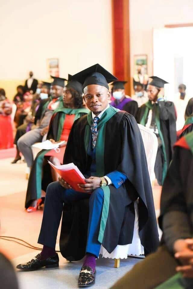 Prophet Bushiri Tears 'Graduation Gown' Apart
