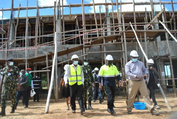 Chilima Assures Construction Companies of Govt Support