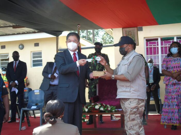 VP Chilima Commends Chinese Govt For Constructing Magnificent Nsipe Police Post