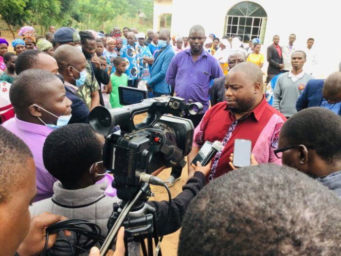 Nankhumwa Graces Elshammah Ministries International Church Opening Ceremony in Chikwawa