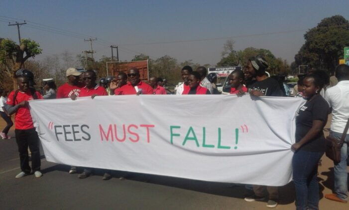 MUBAS Students Protest K20,000 Per Day Late Registration Fee
