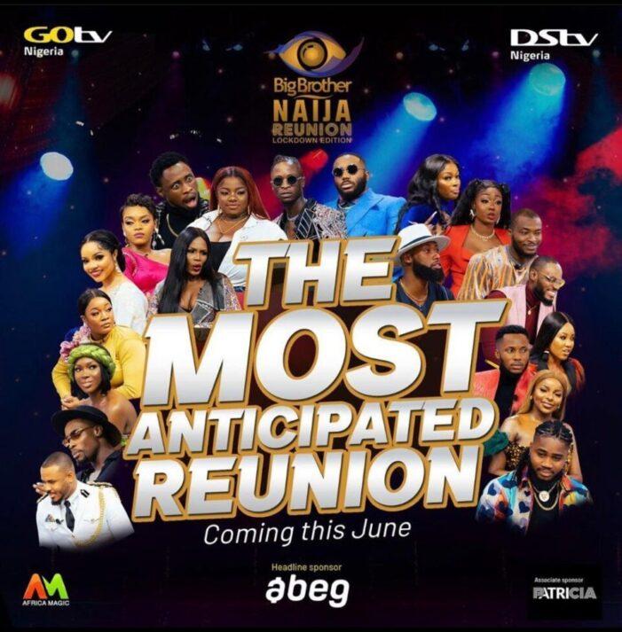 BBNaija Lockdown Reunion Show Starts June 17