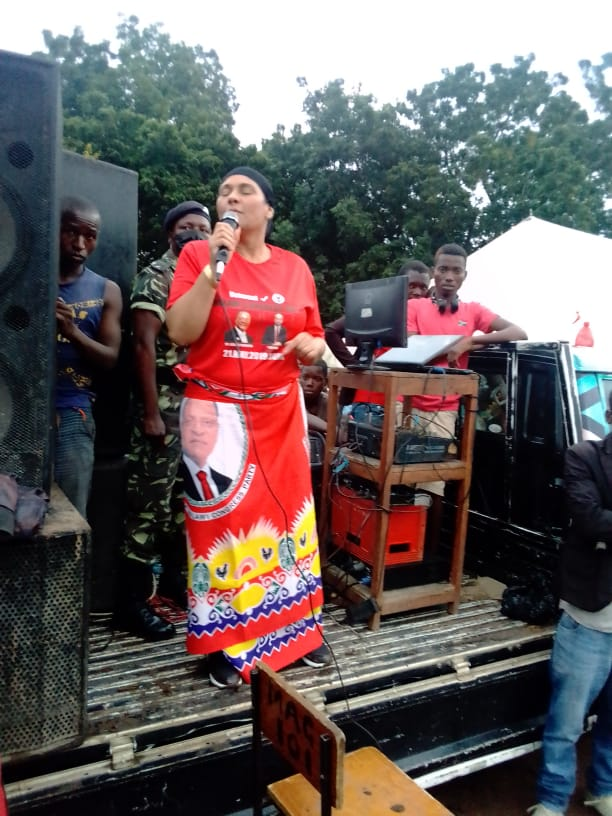 Abida Mia Intensifies Campaign for MCP Candidate in Nsanje ahead of By-elections
