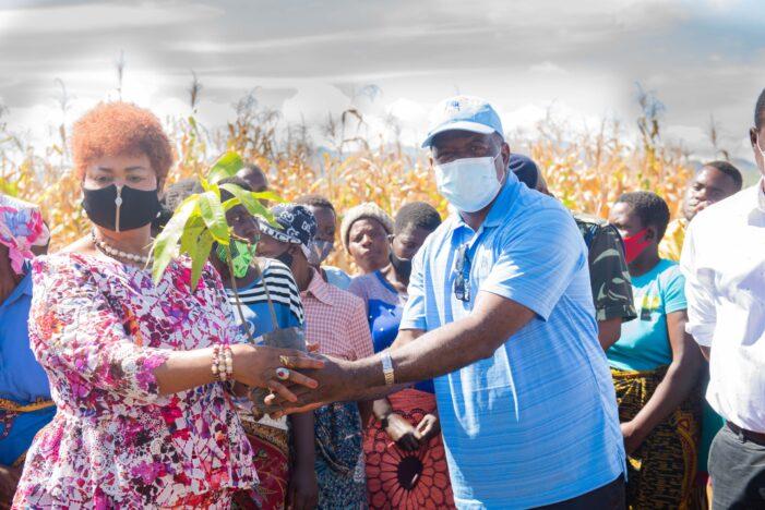 FDH Bank Empowers Women through Fruit Tree Planting