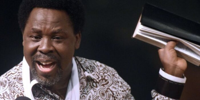Prophet TB Joshua Dies Shortly After Church Service